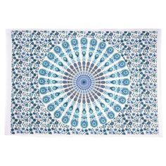 Traditional Jaipur Mandala Ombre Wall Decor Boho Poster Indian Wall Sticker Bohemian Wall Hanging Gypsy Dorm Room Decorations Good Luck Wall Art Hippie Tapestries Size 30x40