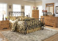 metal bedroom furniture ideas