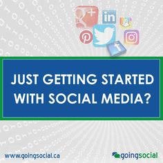 """Are you just getting started with Social Media? We always recommend our clients start with one or two platforms only. Work and invest time to build your social marketing strategy then look to expand to additional social platforms. """"Don't spread yourself too thin trying to reach everyone on every social media platform. Focus on quality - then quantity."""" Lowell Brown, CEO, Going Social"""