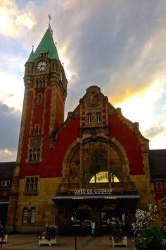 Train Station (Gare de Colmar) in Colmar, France