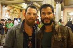 Choreographers Andy Gamboa and Fabio Perez.