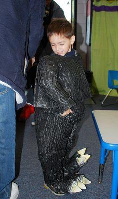 getting ready at school Halloween 2019, Halloween Costumes, Godzilla Costume, Crochet Costumes, Making Out, Fur Coat, School, Fashion, Moda