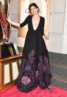 CFDA Awards 2016: The Best Dressed Celebrities on the Red Carpet: Pamela Love in a Mara Hoffman dress, Pamela Love jewelry, and Irene Neuwirth jewelry