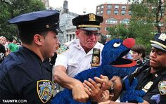 Grover Arrested After Claiming to be Cookie Monster ---- FILM AT 11