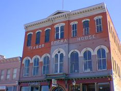 Tabor Opera House. Leadville, CO