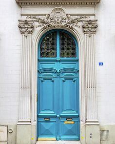 Paris Photo Photograph - Doors No. 4 - Paris, France by Melanie Alexandra Photography #doors #paris #parisstreets #parisphotography #travel