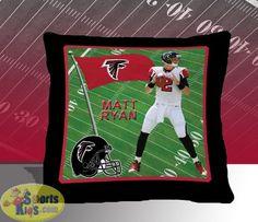 Atlanta Falcons Matt Ryan Toss Pillow 2