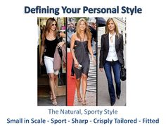 This is for - The Natural, Sporty Style