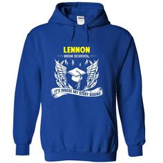 lennon high school It's Where My Story Begins T Shirts, Hoodies. Check Price ==►…