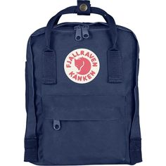 Fjallraven Kanken Mini 7L Backpack (€59) ❤ liked on Polyvore featuring bags, backpacks, accessories - bags, miniature backpack, handle bag, rucksack bags, backpack bags and convertible backpack