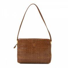 b7243a16d5c1 LXRandCo guarantees this is an authentic vintage Fendi Woven shoulder bag.