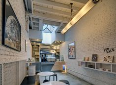 Café, design e arte em 40 m²