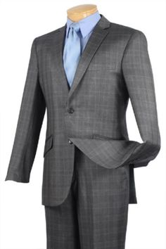 Single Breasted 2 Button Slim Fit affordable suit online 939f004ddee04