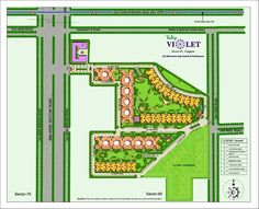 Tulip Group presents prestigious project Tulip Violet, located at Sector-69, Sohna Road, Gurgaon, Easy approachability from NH-8 • 20 minutes from IGI and Domestic Airport & 500 mt from proposed metro link. It offers 3/4 Bedrooms apartments. Amenities include 24 x 7 power backup & Water supply, Kids bus shelter, Swimming pool, Dedicated childres's play areas, Earthquake resistant RCC structure, 70% open area with greens, three tier security etc.