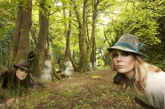 Fashion photography, outdoor, commercial photography, forest, woods, photo shoot, models, modeling, commercial photography, hats,
