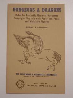 Dungeons & Dragons // Underworld & Wilderness // Gygax & Arneson (1974)