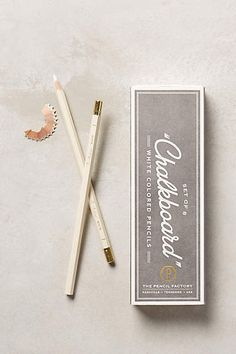 Chalkboard Pencils - anthropologie.com