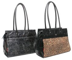 Monaco Animal Print Pet Carriers by Bark-n-Bag - Petfavors.com - The on-line store for pampered pets. Designer pet beds, pet carriers, outdoor cat enclosures, pet strollers