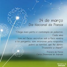 """""""Brasil, meu Brasil Brasileiro"""": Nossa Literatura - Dia 14 de Março - DIA DA POESIA..."""
