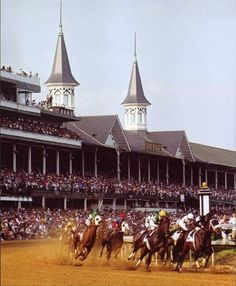 Kentucky Derby Where Rachel gets a business card that changes her life
