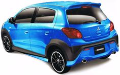 Mirage black and blue Mitsubishi Space, Mitsubishi Mirage, Cars And Motorcycles, Decal, Fan, Blue, Super Cars, Motorbikes, Sticker