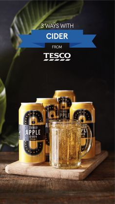 Transform a simple can of apple cider into the perfect autumn cocktail with these easy recipes - from a fruity Harvest mimosa to an indulgent ice cream float. | Tesco