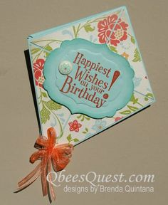 Qbee's Quest: Sale-a-bration 2012 Kite Card