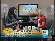 Pharmacist Sherry Torkos explains how to use Alkalol to fight colds & flu the natural way on News Channel 8.