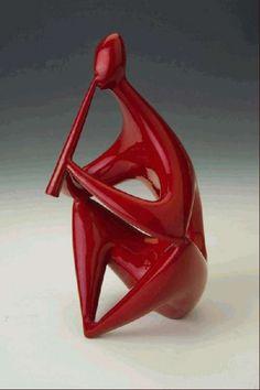 Egy kis Zsolnay - nonfiguratív: Török János munkái Sculpture Art, Mid-century Modern, Mid Century, Pottery, Ceramics, Image, Surf, Design, Nice