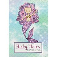 Mermaid Print Sticky