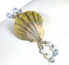 Sunrise Shell gemstone bracelet - With silver