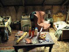 lotje dollhouse: February 2009/  the attic