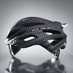 Dux Helm is the world's first cycling helmet with True Retractable Lens System, where the lens hides within the helmet frame. Cycling Helmet, Bicycle Helmet, Big, Silver, Money