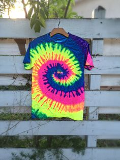 Tie Dye Hippie Rainbow Haze Shirt  Made In The USA