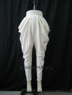 Draping - trousers
