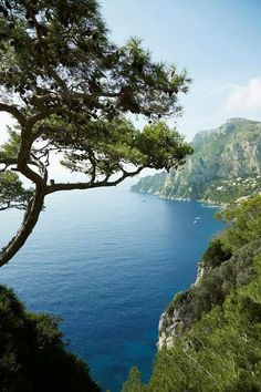 Italy's most glamorous island during the off-season, when the crowds have long gone... Capri'
