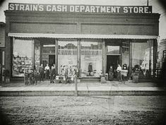 Strains Cash Department Store, taken around 1917.