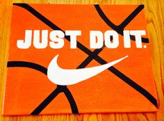 Nike, basketball ~ Just Do It - Visit my Instagram page @ tee_rrificarts
