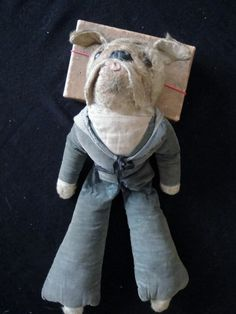 BULLDOG in WW1 Sailor Suit by Deans Rag Book.