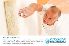 Painting Tip of the Week by Citywide Decorators