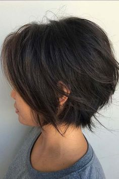 14 Adorable Short Layered Haircuts for the Summer Fun Short layered haircuts are. - 14 Adorable Short Layered Haircuts for the Summer Fun Short layered haircuts are totally in at the - Curly Hair Cuts, Short Hair Cuts, Curly Hair Styles, Natural Hair Styles, Fun Hair Cuts, 4b Hair, Curly Bob, Short Layered Haircuts, Short Bob Hairstyles