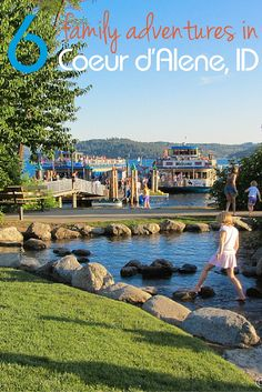 Find some fun family adventures in the pacific northwest with a visit to Coeur d'Alene Idaho! TravelingMom