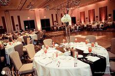 Ballroom reception. Love that centerpiece. (Hutton Hotel Nashville)