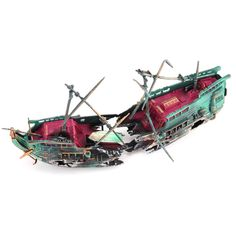 Cheap Decorations, Buy Directly from China Suppliers:Sunk Wreck Boat Aquarium Ornament Ship Sailing Boat Destroyer Air Split Shipwreck Fish Tank Cave Decor Spongebob Fish Tank, Automatic Fish Feeder, Tropical Freshwater Fish, Betta Fish Tank, Discus Fish, Aquarium Ornaments, Aquarium Filter, Shipwreck, Accessories Store