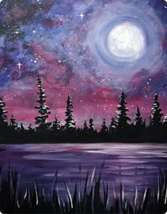 Paint Nite Exhibitions: Galaxy Dreams