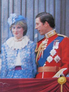 June the Colour- Charles And Diana, Prince Charles, Lady Diana Spencer, Princess Of Wales, Troops, Colours, Pure Products, Wedding, June