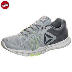 Yourflex Trainette 9.0 MT, Chaussures de Fitness Femme, Gris (Cloud Grey/Asteroid Dust/Electric Flash/White), 42.5 EUReebok