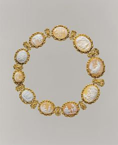 Necklace mid 19th century