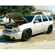 Trailblazer SS with black out rims