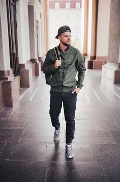 Homens Fashion Oficial - Moda Masculina pra todos.: MODA OUTONO / INVERNO 2017: O VERDE MILITAR - MASCULINO